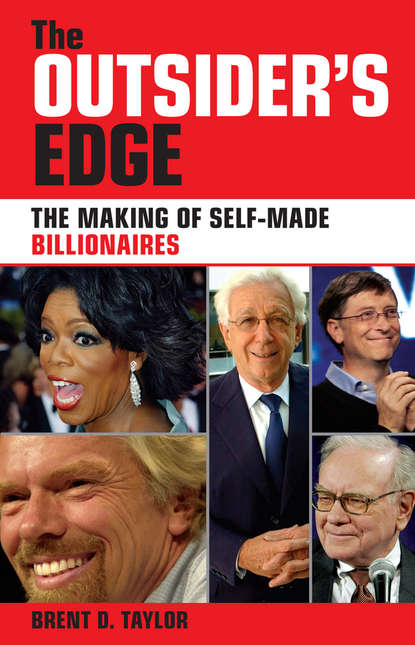 Обложка «The Outsider's Edge. The Making of Self-Made Billionaires»