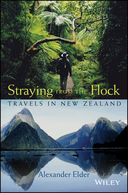 Обложка «Straying from the Flock. Travels in New Zealand»