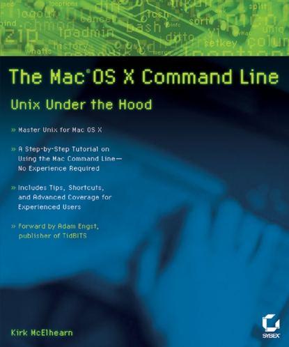 Обложка «The MacOS X Command Line. Unix Under the Hood»