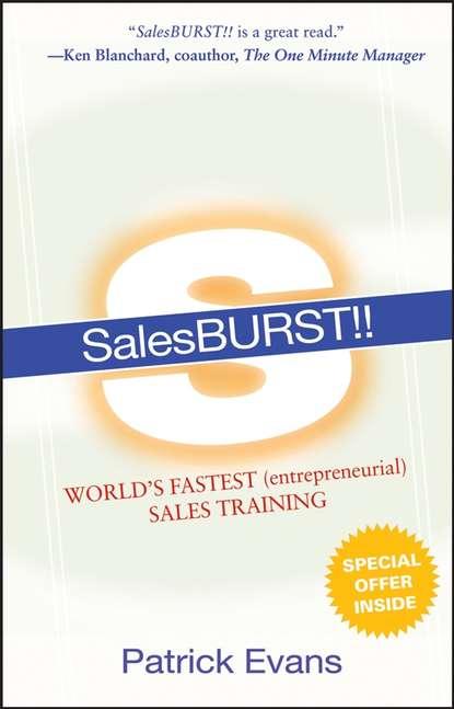 Обложка «SalesBURST!!. World's Fastest (entrepreneurial) Sales Training»