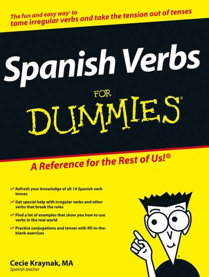 Обложка «Spanish Verbs For Dummies»