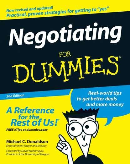Обложка «Negotiating For Dummies»