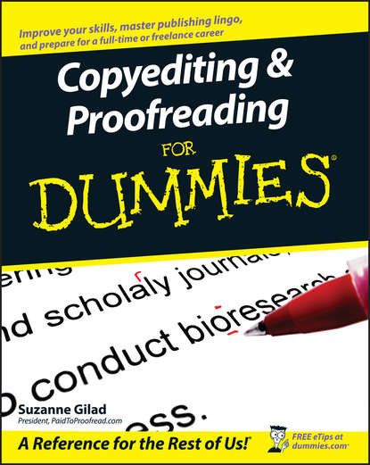 Обложка «Copyediting and Proofreading For Dummies»
