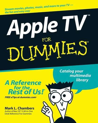 Обложка «Apple TV For Dummies»