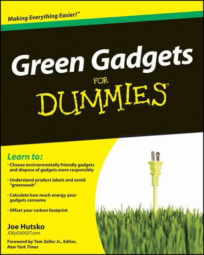 Обложка «Green Gadgets For Dummies»
