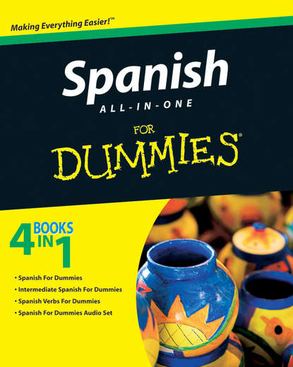 Обложка «Spanish All-in-One For Dummies»