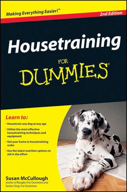 Обложка «Housetraining For Dummies»