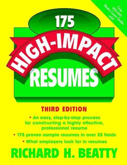 Обложка «175 High-Impact Resumes»