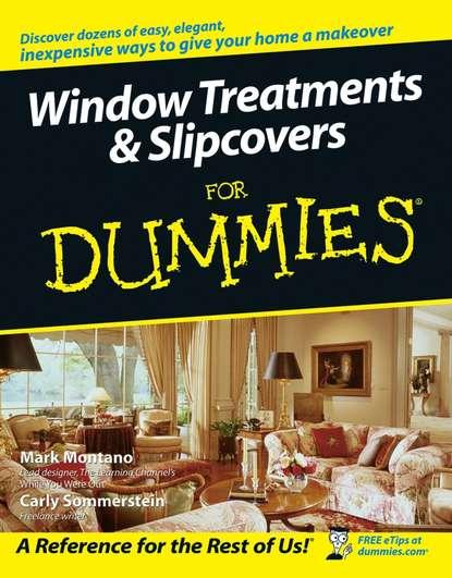 Обложка «Window Treatments and Slipcovers For Dummies»
