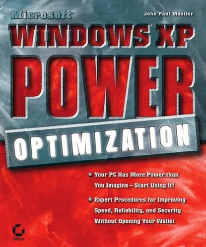 Обложка «MicrosoftWindowsXP Power Optimization»