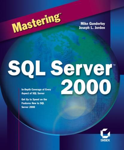 Обложка «Mastering SQL Server 2000»