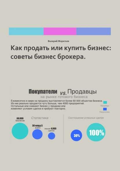 Обложка «Как продать или купить бизнес: советы бизнес брокера»