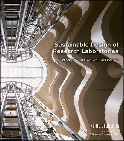Обложка «Sustainable Design of Research Laboratories. Planning, Design, and Operation»
