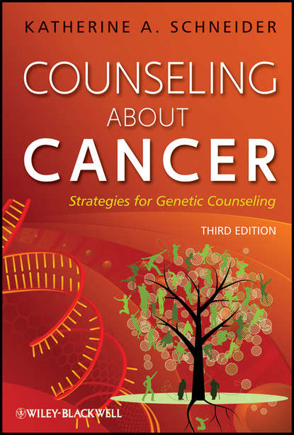 Обложка «Counseling About Cancer. Strategies for Genetic Counseling»