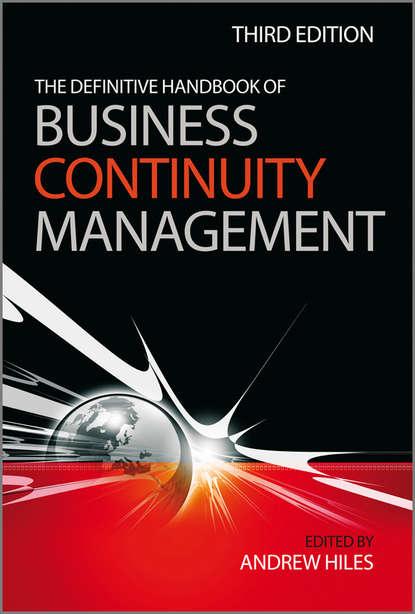 Обложка «The Definitive Handbook of Business Continuity Management»