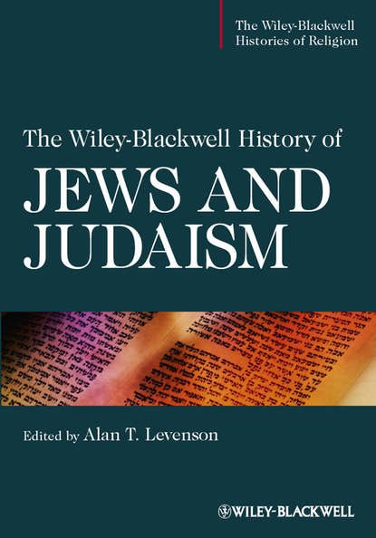 Обложка «The Wiley-Blackwell History of Jews and Judaism»