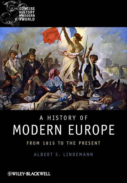 Обложка «A History of Modern Europe. From 1815 to the Present»