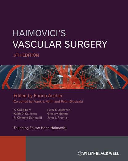 Обложка «Haimovici's Vascular Surgery»
