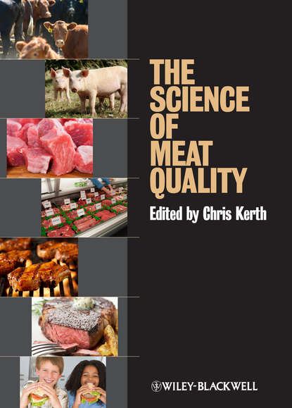 Обложка «The Science of Meat Quality»