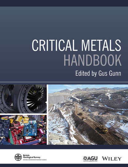 Обложка «Critical Metals Handbook»