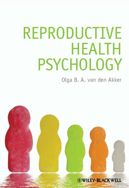 Обложка «Reproductive Health Psychology»