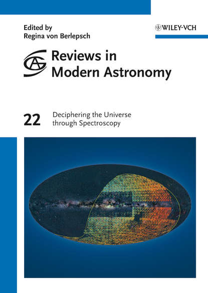 Обложка «Reviews in Modern Astronomy, Deciphering the Universe through Spectroscopy»