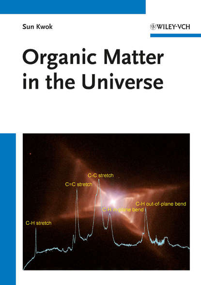 Обложка «Organic Matter in the Universe»