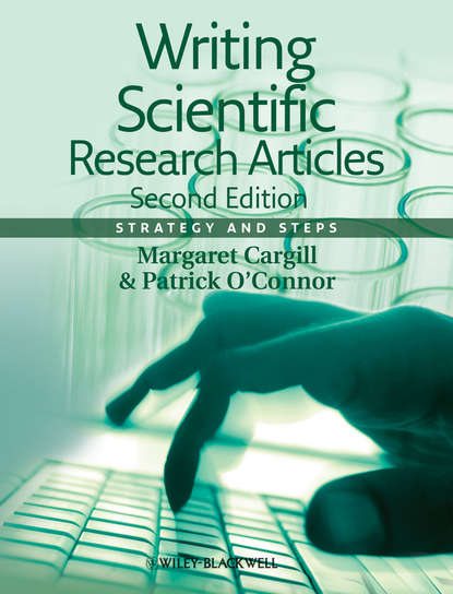 Обложка «Writing Scientific Research Articles. Strategy and Steps»