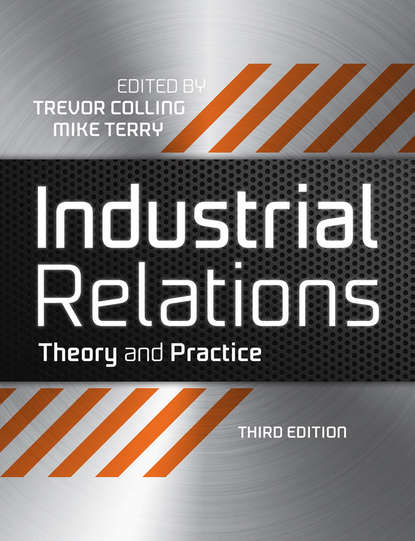 Обложка «Industrial Relations. Theory and Practice»