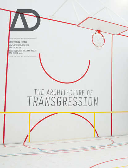 Обложка «The Architecture of Transgression»