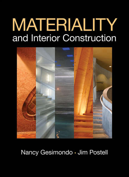 Обложка «Materiality and Interior Construction»