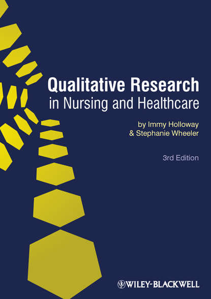Обложка «Qualitative Research in Nursing and Healthcare»