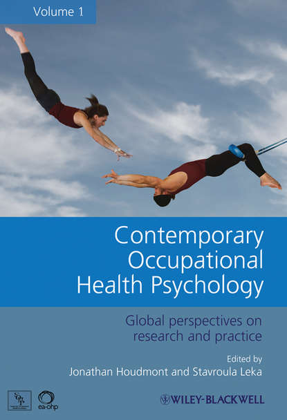 Обложка «Contemporary Occupational Health Psychology. Global Perspectives on Research and Practice, Volume 1»
