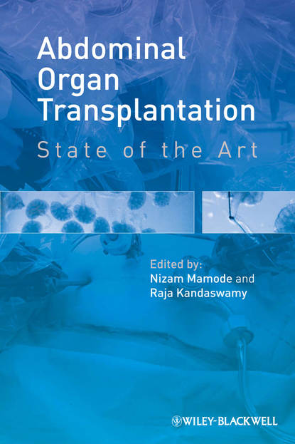 Обложка «Abdominal Organ Transplantation. State of the Art»