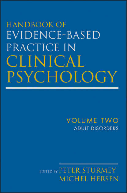 Обложка «Handbook of Evidence-Based Practice in Clinical Psychology, Adult Disorders»