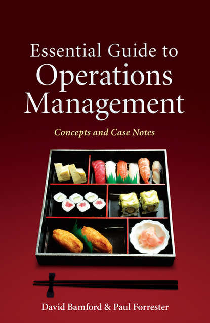 Обложка «Essential Guide to Operations Management. Concepts and Case Notes»
