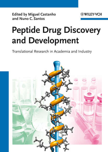 Обложка «Peptide Drug Discovery and Development. Translational Research in Academia and Industry»