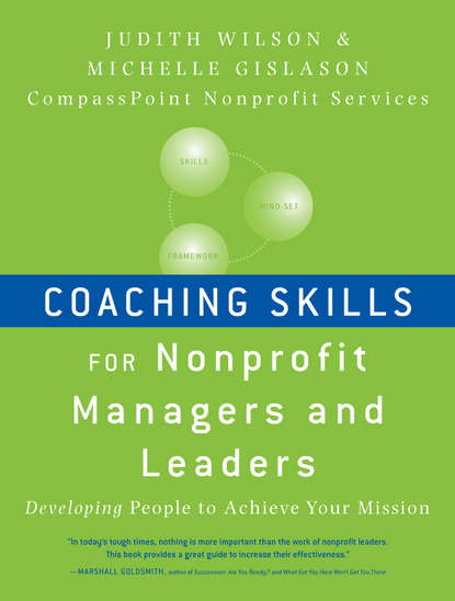Обложка «Coaching Skills for Nonprofit Managers and Leaders. Developing People to Achieve Your Mission»