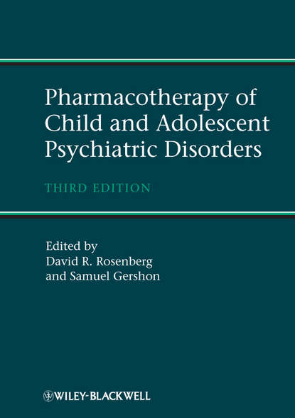 Обложка «Pharmacotherapy of Child and Adolescent Psychiatric Disorders»