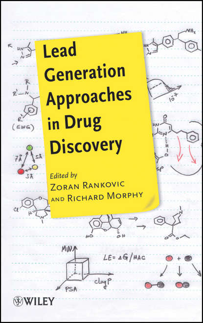 Обложка «Lead Generation Approaches in Drug Discovery»