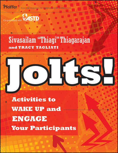 Обложка «Jolts! Activities to Wake Up and Engage Your Participants»