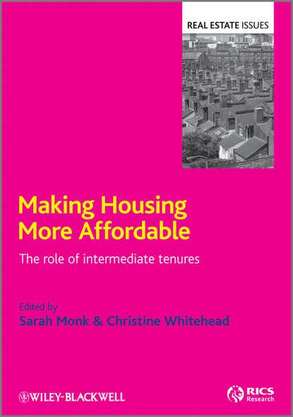 Обложка «Making Housing more Affordable. The role of intermediate tenures»