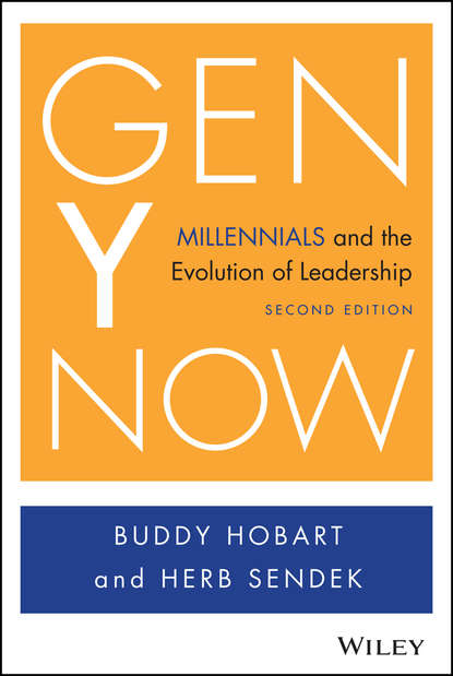 Обложка «Gen Y Now. Millennials and the Evolution of Leadership»