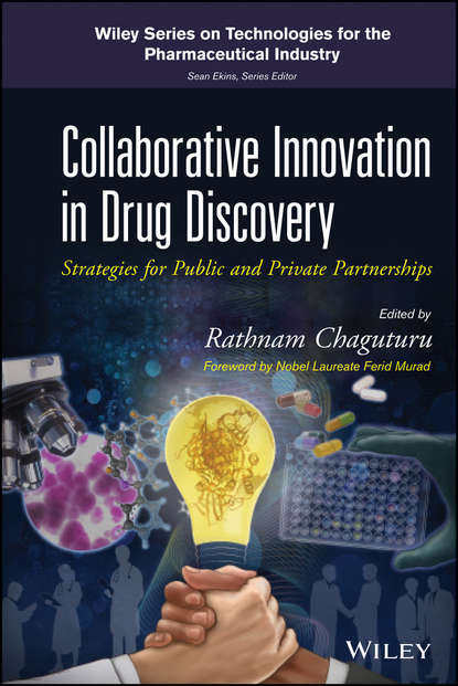 Обложка «Collaborative Innovation in Drug Discovery. Strategies for Public and Private Partnerships»