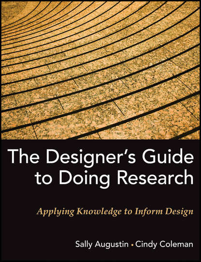 Обложка «The Designer's Guide to Doing Research. Applying Knowledge to Inform Design»