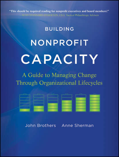 Обложка «Building Nonprofit Capacity. A Guide to Managing Change Through Organizational Lifecycles»