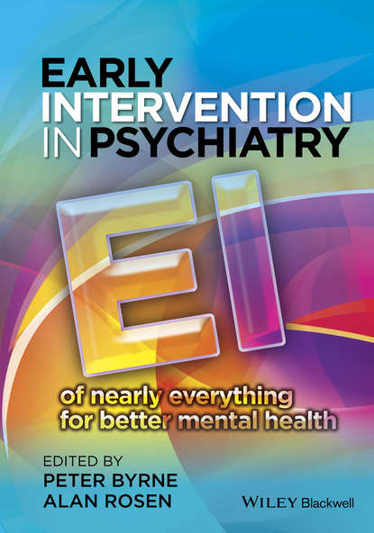 Обложка «Early Intervention in Psychiatry. EI of Nearly Everything for Better Mental Health»