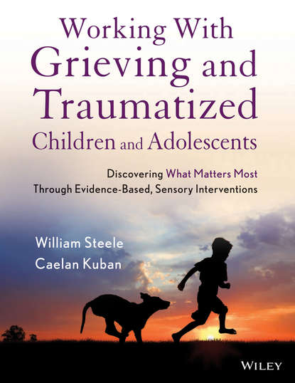 Обложка «Working with Grieving and Traumatized Children and Adolescents. Discovering What Matters Most Through Evidence-Based, Sensory Interventions»
