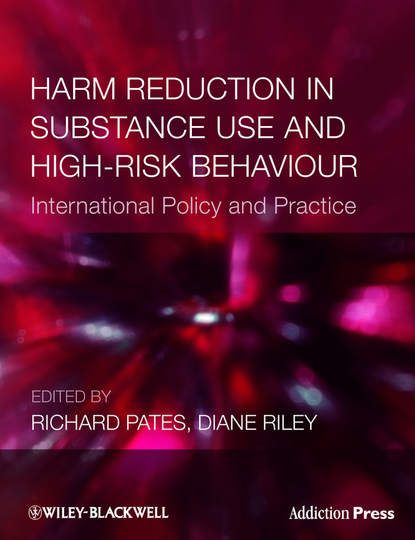 Обложка «Harm Reduction in Substance Use and High-Risk Behaviour»