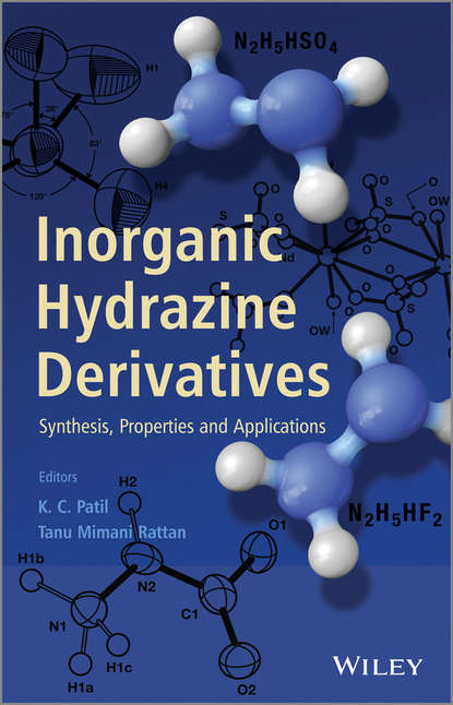 Обложка «Inorganic Hydrazine Derivatives. Synthesis, Properties and Applications»